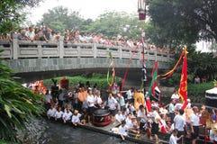 Dragonboat tradizionale Fotografia Stock