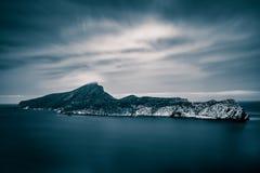 Dragonera-Insel, Majorca, die Balearischen Inseln, Spanien stockbild