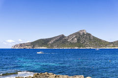 Dragonera island, Majorca, Spain Royalty Free Stock Photo