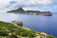 Dragonera island. Mallorca Royalty Free Stock Photography