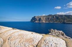 Dragonera lighthouse view Stock Photography