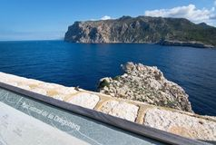 Dragonera lighthouse view Stock Image