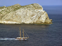 dragonera wyspa Mallorca Spain Zdjęcie Stock