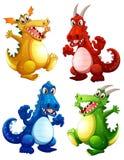 dragones Fotos de archivo