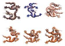 dragones Fotos de archivo libres de regalías