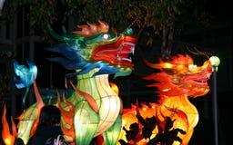 Dragones Fotografía de archivo libre de regalías