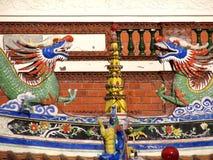 Dragones chinos Fotografía de archivo libre de regalías