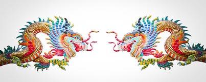 Dragones chinos Imágenes de archivo libres de regalías