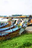 Dragones de agua del río de Huong, tonalidad, Vietnam imagen de archivo libre de regalías