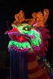 Dragones de la iluminación en Año Nuevo chino Imagenes de archivo