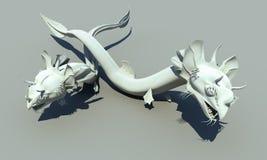 Dragones de la serpiente Fotografía de archivo