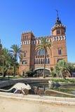 Dragones de Tres de los dels de Castel en Parc de la Ciutadella Barcelona, Cataluña, España Fotografía de archivo libre de regalías
