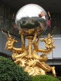 Dragones en Shangai Foto de archivo