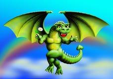 Dragonet Arkivfoto