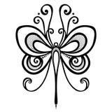 Dragonfly насекомого Стоковые Изображения