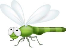 Шарж Dragonfly Стоковое Изображение RF