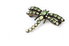 Dragonfly brooch Royalty Free Stock Image