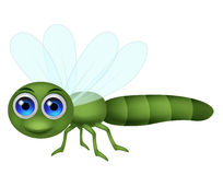 Dragonfly cartoon royalty free illustration