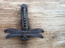 Dragonfly Knocker royalty free stock images