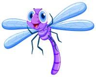 Dragonfly w purpura kolorze ilustracji