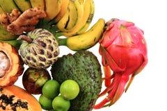 dragonfruit bannana annona папапайи Стоковые Изображения RF