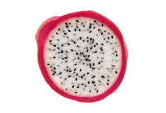 Dragonfruit découpé en tranches Image stock