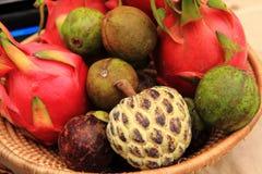 dragonfruit d'anonna, passiflores comestibles de passiflore Image libre de droits