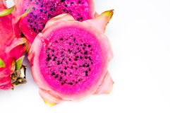 Dragonfruit. Fresh dragonfruit in Thailand isolated Royalty Free Stock Images