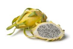 Dragonfruit jaune Images stock