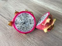 Dragonfruit. Juicy asian fresh dreagon fruit stock photo