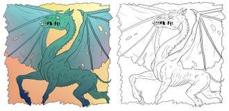 Dragonhorse Immagini Stock Libere da Diritti