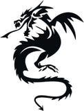 dragonmodell Royaltyfri Fotografi