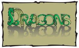Dragons Stock Image