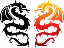 Dragons Royalty Free Stock Images