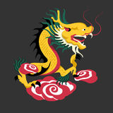 dragons Fotografia de Stock Royalty Free