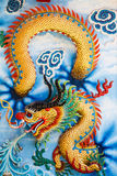 Dragons in chinese temple Royalty Free Stock Photography