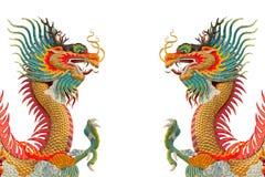 Dragons colorés. Photos libres de droits