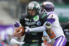 Dragons contre Vikings Images stock