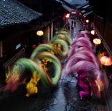 Dragons de roulement Photo stock