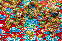 Dragons Fight Royalty Free Stock Images