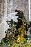 Dragons fountain, Villa d'Este - Tivoli Royalty Free Stock Photos