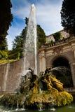 Dragons fountain, Villa d'Este - Tivoli Stock Photos