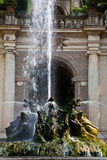 Dragons fountain, Villa d'Este - Tivoli Royalty Free Stock Photo