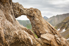 Dragons' Gate in Romanian mountains Royalty Free Stock Image