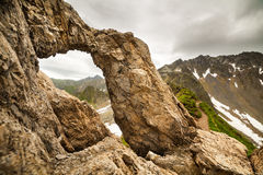 Dragons' Gate in Romanian mountains Royalty Free Stock Photography