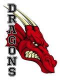 Dragons Mascot Stock Image