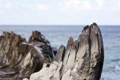 Dragons Teeth, Maui, Hawaii Stock Photography
