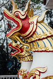 Dragons in Wat Phrathat temple on Doi Suthep, Chiang Mai Royalty Free Stock Photo