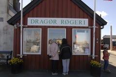 DRAGOR SMOKEHOUSE Stock Image