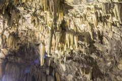 Dragorati grotta Sami Cephalonia Kefelonia, Grekland arkivbilder